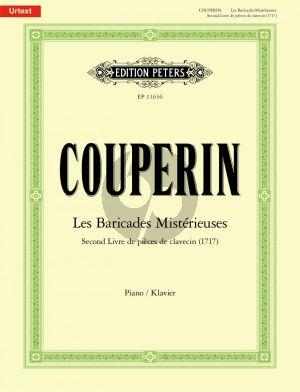Couperin Les Baricades Mistérieuses (Catherine Massip) (Second Livre de pièces de clavecin (1717)