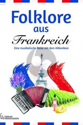 Folklore aus Frankreich für Akkordeon (arr. Joanne Bialek-Tan)