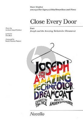 Lloyd Webber Close Every Door for SATB with Piano (Arranged by Barrie Carson Turner)
