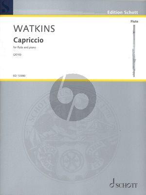 Watkins Capriccio for flute and piano (2010)