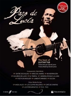 Best of Paco de Lucia Guitar (tab.) (transcr. David Leiva)
