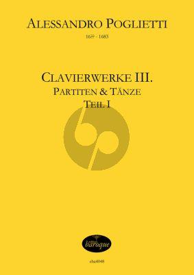 Poglietti Clavierwerke Band 3 - Partiten und Tänze für Klavier (Jörg Jacobi)