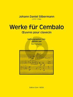 Silbermann Werke für Cembalo (herausgegeben von Marc Schaefer)