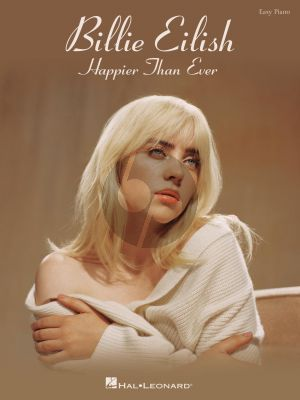 Billie Eilish – Happier Than Ever Easy Piano