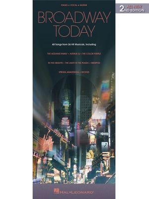 Broadway Today – All-New 2nd Edition Piano-Vocal-Guitar