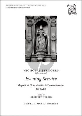 Strogers Evening Service for SATB