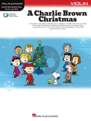 Guaraldi A Charlie Brown Christmas for Violin (Book with Audio online)