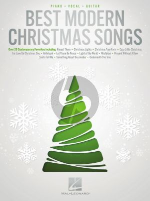 Best Modern Christmas Songs Piano-Vocal-Guitar