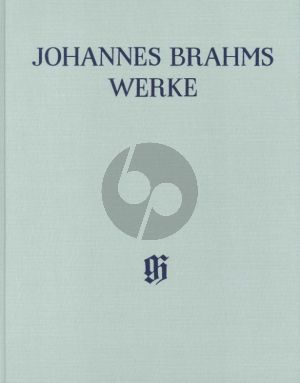 Brahms Symphonie No.1 c-moll Op.68 Partitur (LN) (Robert Pascall)