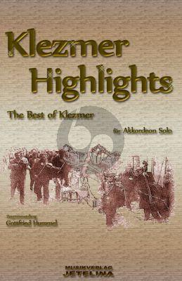 Klezmer Highlights für Akkordeon (Gottfried Hummel) (Jetelina Musik)