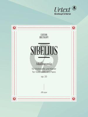 Sibelius Malinconia Op.20 for Cello and Piano