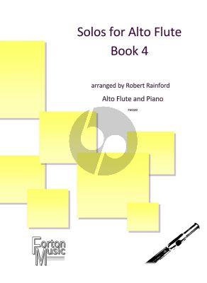 Solos for Alto Flute Vol. 4 Alto Flute and Piano (arr. Robert Rainford)