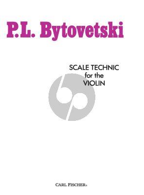 Bytovetski Scale Technique for The Violin