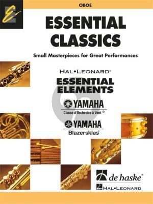 Essential Classics for Concert Band Oboe part (arr. Jan de Haan)