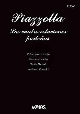 Piazzolla Las Cuatro Estaciones Porteñas Piano solo