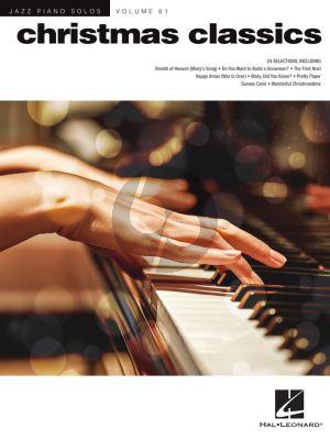 Christmas Classics Piano solo (Jazz Piano Solos Series Vol. 61)