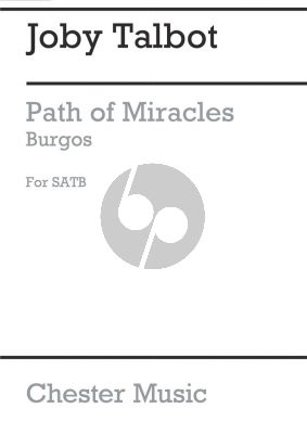 Talbot Path of Miracles - Burgos SATB and Percussion