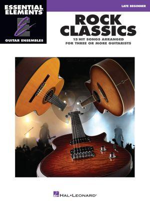 Rock Classics for 3 or more Guitarists (Essential Elements Guitar Ensembles)