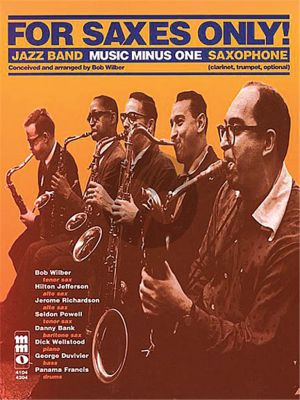 For Saxes Only (Bk-Cd) (MMO)