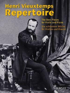 Henri Vieuxtemps Repertoire Violin and Piano