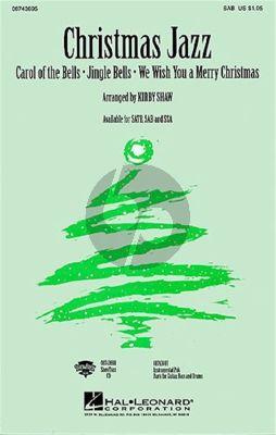 Christmas Jazz for SAB (arr. Kirby Shaw)
