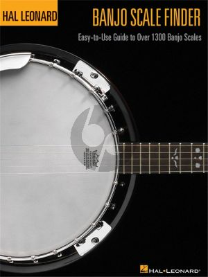 Johnson Banjo Scale Finder (Easy-to Use Guide to over 1300 Banjo Scales)