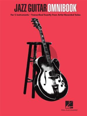 Jazz Guitar Omnibook for C Instruments