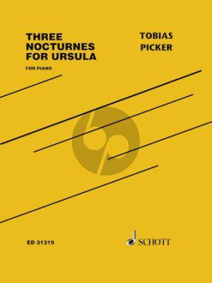 Picker Three Nocturnes for Ursula Piano solo