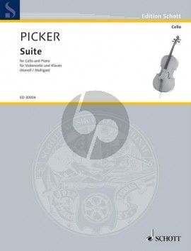 Picker Suite for Cello and Piano (edited by Lynn Harrell and Simon Mulligan)