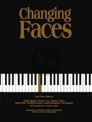 Changing Faces Piano solo (New Piano Works) (edited by Corey Field)