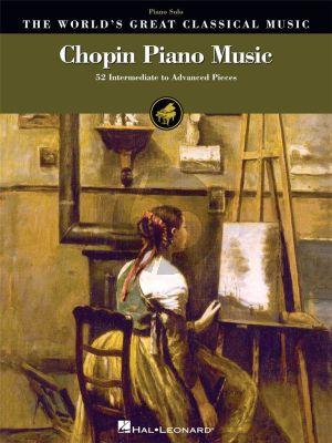 Chopin Piano Music (52 intermediate to advanced Piano pieces) (arr. Richard Walters)