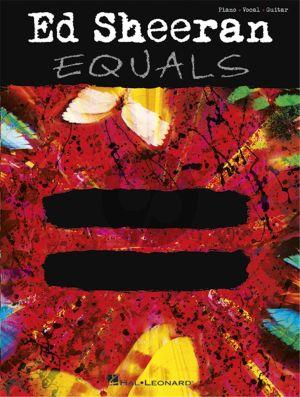 Sheeran Equals Piano/Vocal/Guitar