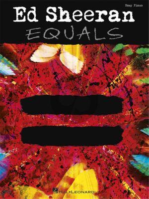 Sheeran Equals for Easy Piano