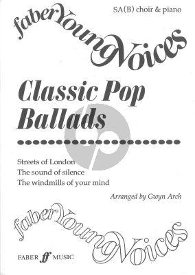 Classic Pop Ballads SA-piano (B) (Arch)