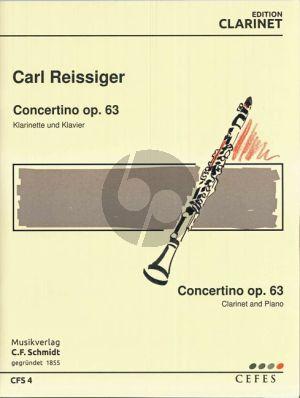 Reissiger Concertino Op.63 Clarinet-Piano (Robert Stark)