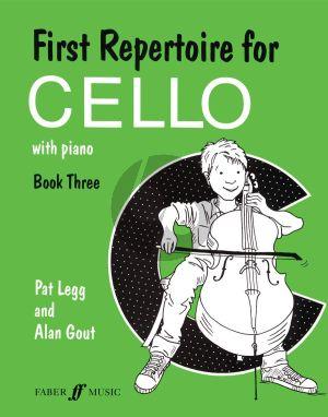 First Repertoire for Cello Vol. 3 Cello and Piano