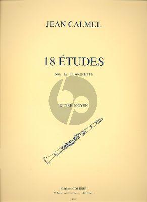 18 Etudes Clarinette