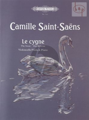 Saint-Saens Le Cygne Violoncello or Viola and Piano (The Swan