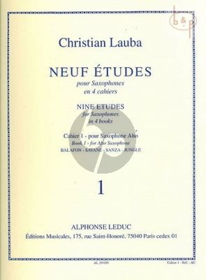 9 Etudes Vol.1