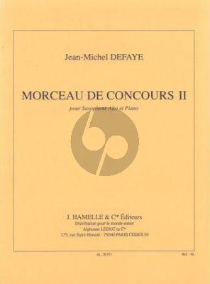 Morceau de Concours No. 2 Saxophone alto et Piano