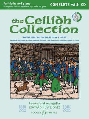 The Ceilidh Collection Violin and Piano (with opt. violin accomp.-easy violin and guitar