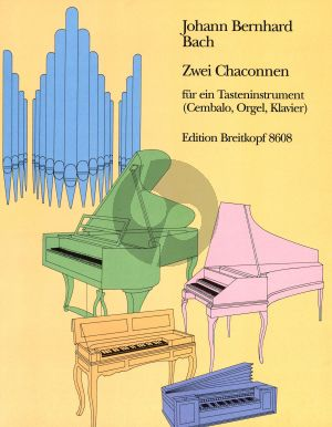 J.B. Bach 2 Chaconnes for a Keyboard Instrument