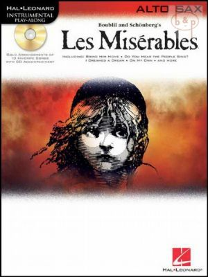 Les Miserables Play-Along Pack for Alto Sax