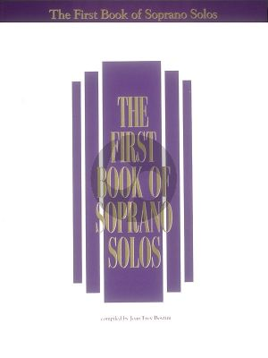 First Book of Soprano Solos (Compiled Boytim)