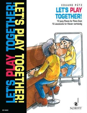 Putz Let's Play Together (10 Jazz Pieces) Piano 4 hds