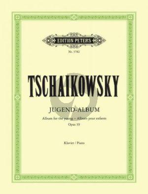 Tchaikovsky Jugendalbum Op.39 Klavier (Walter Niemann)