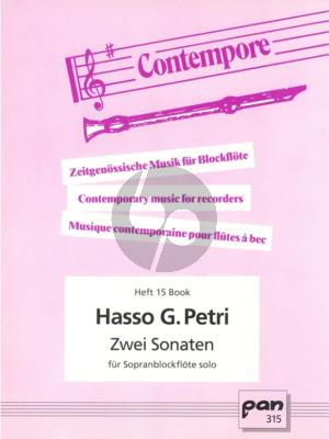 Petri 2 Sonaten