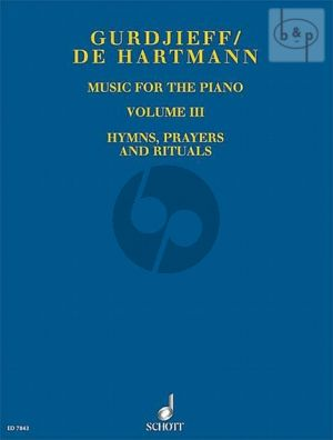 Music for Piano Vol.3 Hymns, Prayers and Rituals