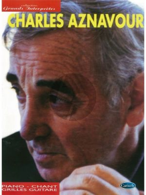 Aznavour Collection Grands Interpretes (Piano/Vocal/Guitar)