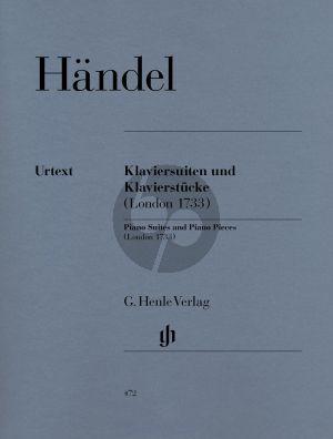 Handel Klaviersuiten und Klavierstucke (London 1733) (Henle-Urtext)